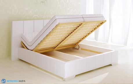 łóżko Z Pojemnikiem Na Pościel 80272