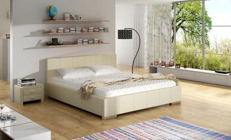 łóżko Do Sypialni Białe 80271