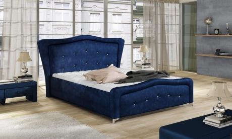 Ekskluzywne łóżko Tapicerowane 81230