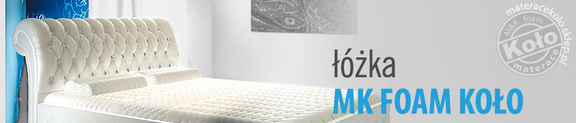 Łóżka MK Foam Koło